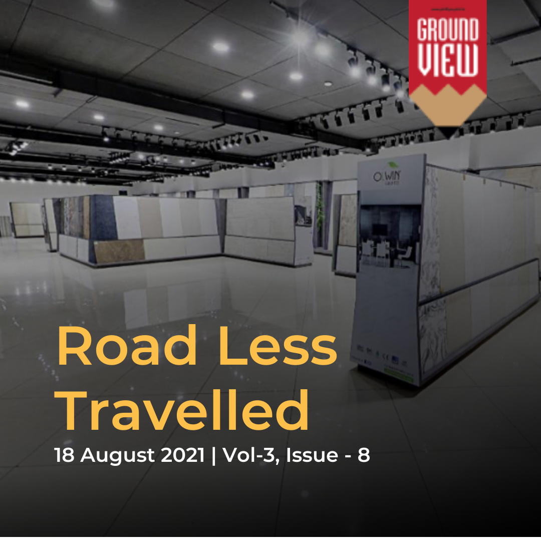 Road Less travelled - 18th August, 2021 , Vol 3, Issue 8