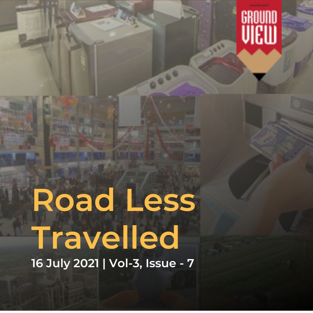 Road Less Travelled | 16th July 2021 | Vol 3, Issue 7